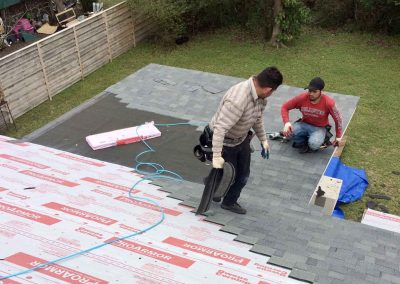 Roofing Installation of Asphalt shingles in Wilmington