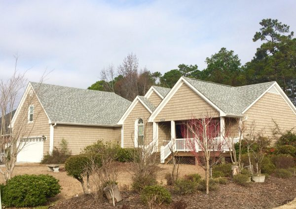 Newly installed roof by the best roofing contractor in Wilmington, NC